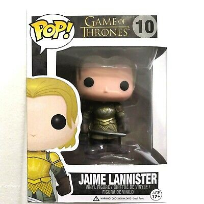 Funko POP GAME OF THRONES #10  JAIME LANNISTER Figure Model vinyl doll Toy