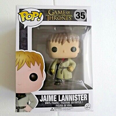 Funko POP GAME OF THRONES #35 JAIME LANNISTER Figure Model Pvc vinyl doll Toy