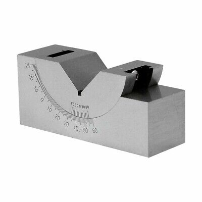 Precision Angle Block 0-60 Degree 3 Inch x 1 Inch x 1-1/4 Inch V Block Gauge