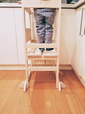 Toddler learning tower with adjustable height, brand new