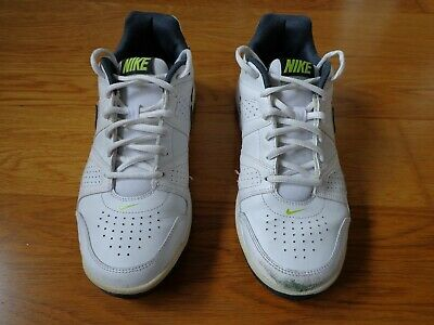 Nike City Court White Leather Trainers Casual Men Size UK 8 EU 42.5 US 9 USED