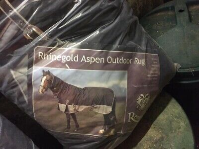 7 Foot Rhinegold Aspen Heavyweight Winter Combo Horse Rug 350g with Full Neck