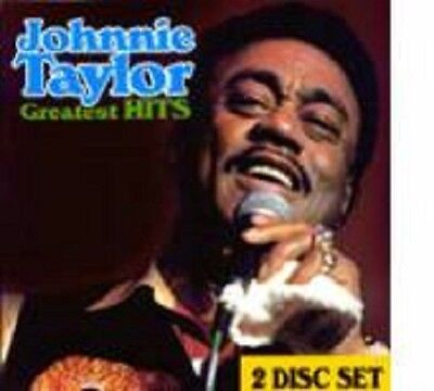 Johnnie Taylor -   Greatest Hits - 2 CD Set  -   New Factory Sealed CD
