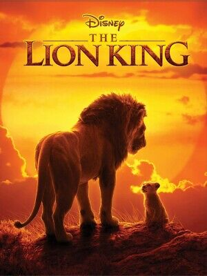 The Lion King 2019 DVD. Used. In very good condition. Free post.