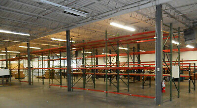 Quantity of Heavy Duty Steel Warehouse Pallet Shelving - Pick Up North of Boston