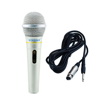 Dynamic Microphone Professional Wired Handheld Karaok Studio For Singing Part lc