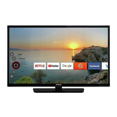 Hitachi 32HE2000U 32 Inch HD Ready 720p Smart WiFi LED TV With Freeview - Black
