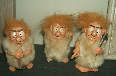 Three Troll Type Figures