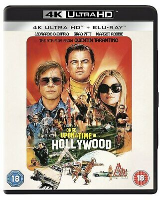Once Upon a Time In... Hollywood (4K Ultra HD + Blu-ray) [UH RELEASED 09/12/2019