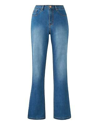 Womens Everyday Bootcut Jeans Simply Be