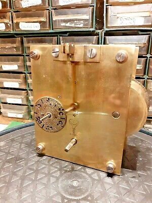 fusee bracket clock movement