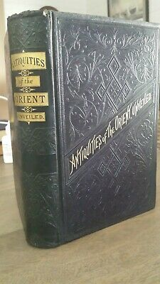 Freemasonry, Masonic, Antique, 1873, Knights Templar, Full Leather Very Rare