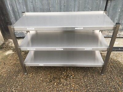 Stainless Steel Three Tier Shelving Unit