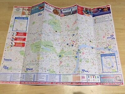 Tourist Guide & Map of Central London * Save 20% @30+ Attractions * 2019 Edition