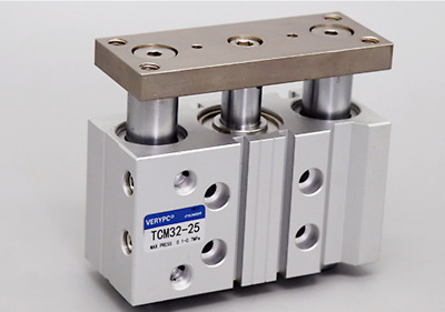New TCM12X100S Three axis Aluminum Alloy Pneumatic Air Cylinder