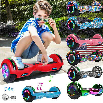 "6.5"" Hoverboard Bluetooth Electric Self Balance Scooter W/ Bag Skateboard Hover"