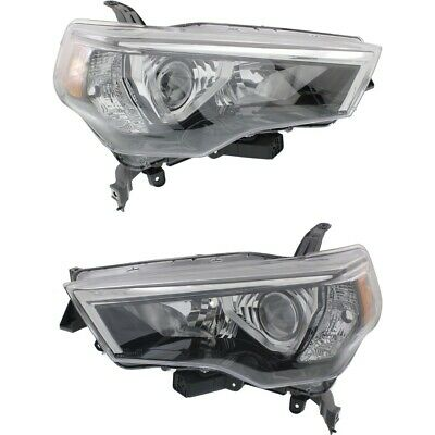 Headlight Lamp Left-and-Right for 4 Runner LH & RH Toyota TO2518150C, TO2519150C