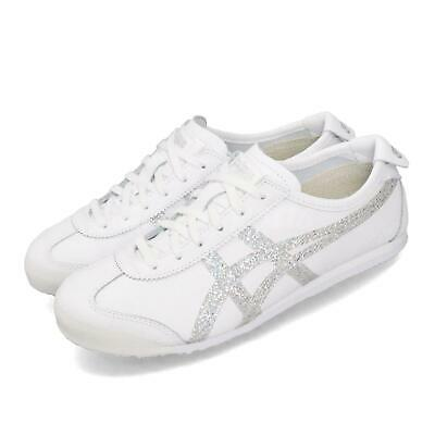 Asics Onitsuka Tiger Mexico 66 White Silver Casual Shoes Sneakers 1182A129-100