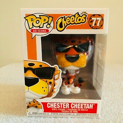 Funko Pop Ad Icons! Cheetohs Chester Cheetah #77 MINT w/ Protector!
