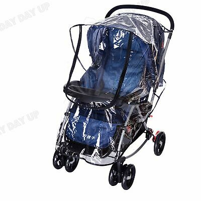 Universal Plus Size Rain Cover Raincover for Hauck Shopper Sport Buggy Pushchair