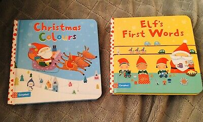 Christmas Books (board) For Babies X2