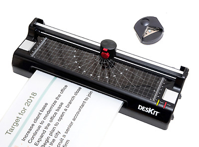 Deskit A4 Laminator & Cutter 3-in-1 with Perforator and Corner Rounder