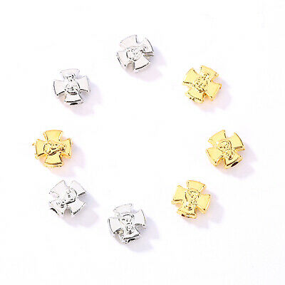 Wholesale Alloy Spacer Beads Religious Faith Crosses Charm DIY Jewelry Findings