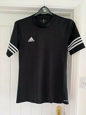 Mens Black Climalite Top From ADIDAS - Size S