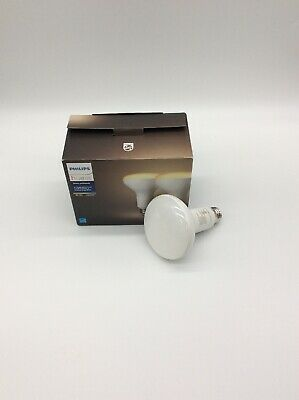 Philips - Hue White Ambiance BR30 Bluetooth Smart LED Bulb (2-Pack) - Adjustable