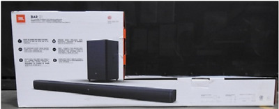 JBL JBLBAR21BLKA Bar 2.1 Channel 300W Soundbar System