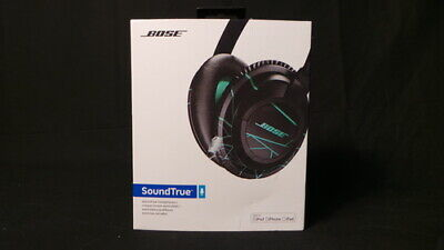 Mint Bose SoundTrue Headphones Around-Ear Style - Black/Mint