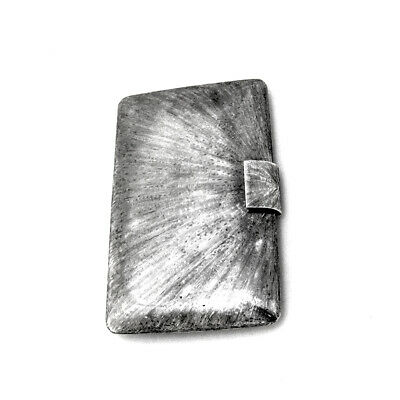 Tiffany Co Purse Case Textured Finish Sterling Silver Italy