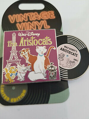 Disney Parks The Aristocats Vintage Vinyl Pin LE 3000 NEW