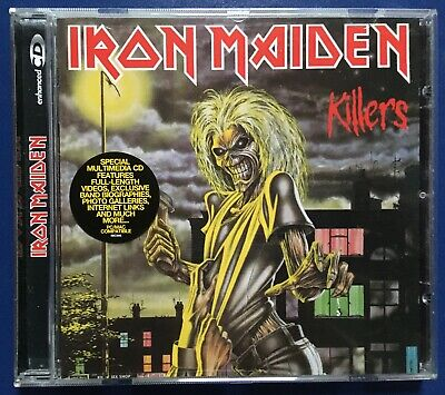 Cd Iron Maiden Killers 969170 Europe