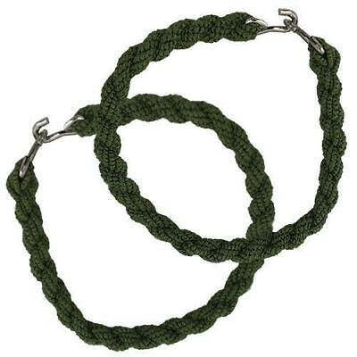 Genuine U.s. Boot Bands: Trouser Blousers - Green - 2 Pairs