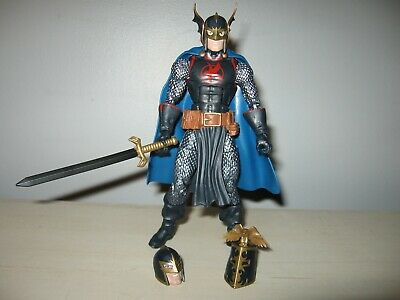 1//12 scale Blue Wired cape for Marvel Legends Black Knight SU-BK-BL No Figure