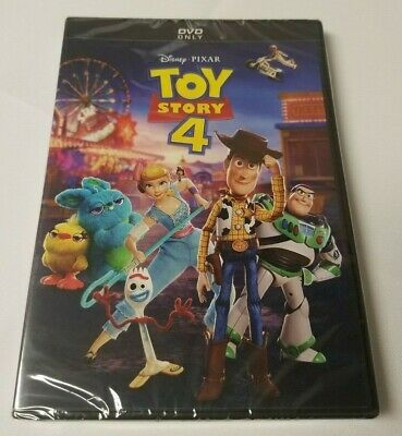 Toy Story 4 (Dvd, 2019) Brand New And Factory Sealed - Ship Fast!!!