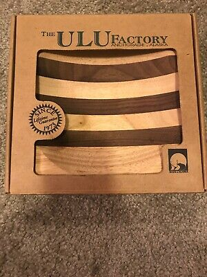 Ulu FACTORY Birch- Walnut  ULU Chopping Bowl 8-inch Made in the USA