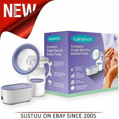 Lansinoh Compact Single Electric Breast pump│Small & Lightweight│BPA-Free