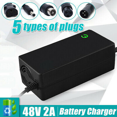 Electric Scooter Bike 48V 2A Li-Ion Lithium Battery Charger Electric Motorcycle