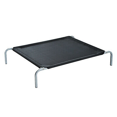Pawhut Elevated Pet Sleep Bed Dog Cat Cool Cot Home Outdoor Folding Portable