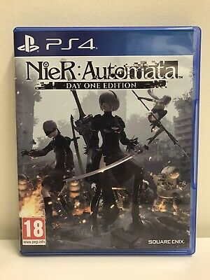 Nier Automata PS4 (PlayStation 4) Day One Edition With Reversible Cover