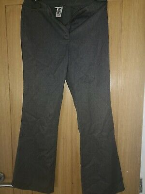 Girls Age 10 Plus Fit Grey Next  school Trousers