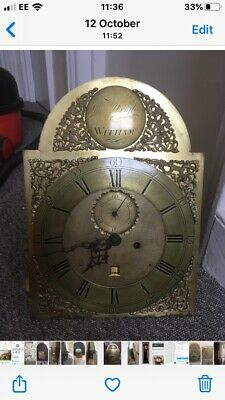 A George III Long Case Grandfather Clock By Rich Wright Of Witham c1790