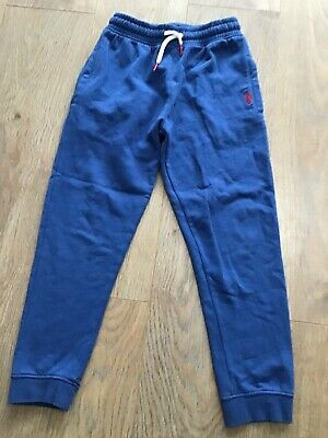 Next Boys Age 8 Years Blue Tracksuit Jogging Bottoms G487