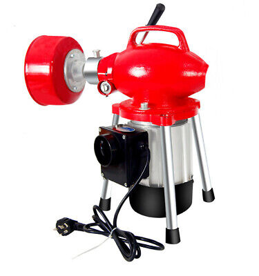 220V 1800W Electric Pipe Dredging Machine Kitchen Toilet Drain Cleaning Machine