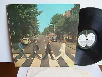 The Beatles - Abbey Road  PCS 7088 UK LP -2/-1  1969  Apple  Vinyl