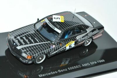 Mercedes-Benz 500SEC W126 AMG Spa N°5 1989 Heyer Mertes Blanco 1979-1991 68931