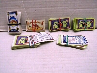 VINTAGE JOE CAMEL CIGARETTE CASH COUPONS C NOTES CAMEL CASH 1990'S 200+ pieces