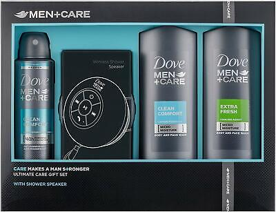 DAMAGED BOX - Dove Men +Care Body & Face Wash Anti-Perspriant & Wireless Speaker